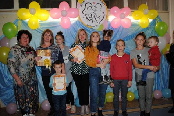 В Волгоградской области растет число многодетных семей