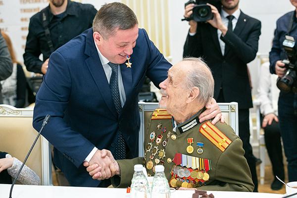 Андрей Бочаров : «Мы гордимся Поколением Победителей»