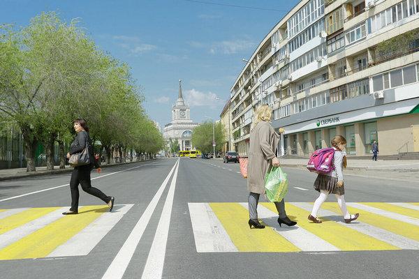 В 2020 году в волгоградском регионе дополнительно обустроят порядка 50 новых пешеходных переходов